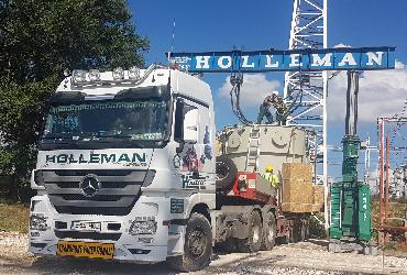 Holleman special transport of electrical reactors